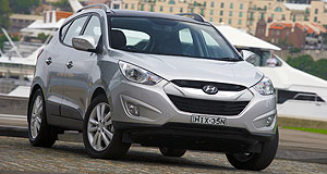 VFACTS Sales 2011 One the rise: Hyundai's ix35 was one of the success stories for the Korean brand in April sales.