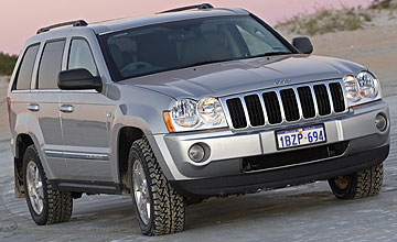 2005 Jeep Grand Cherokee 5-dr wagon range Car Review