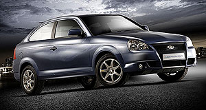 Lada  Going backwards: The Lada Priora is one of a new-generation Russian of cars finding the going tough in a stalled economy.