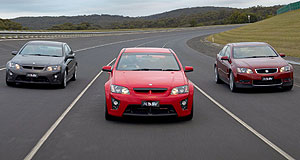 "HSV ClubSport sedan rangeQuick: HSV claims its new VE-based sedans join the ""four-second club""."