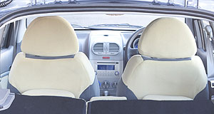 Chery J1 And the rest: Chery importer Ateco says the redesigned front-seat backrests help the J1 perform better in crash testing and could be enough to bump up the car's ANCAP result from three stars to four were it re-tested.