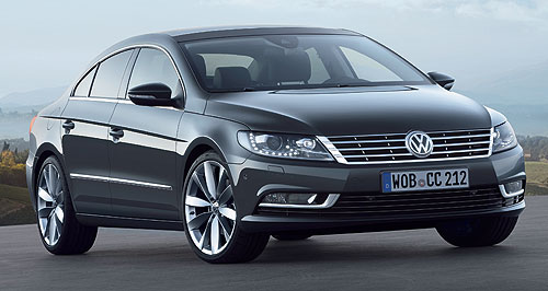 Volkswagen 2012 CC Just say CC: Volkswagen will no longer use the Passat name for its latest coupe-convertible.