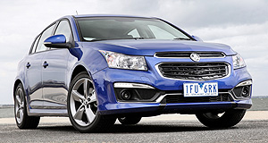 Holden Cruze Z-SeriesSporting chance: Holden will be hoping its new Z-rated Cruze models and their sportier theme will help boost the Aussie-built small-car range, sales of which were down 18 per cent last year.