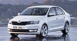 Skoda 2013 Rapid Rapid growth: Skoda is pinning its ambitious sales growth targets on the Rapid small car that will go on sale in Australia by the middle of next year.