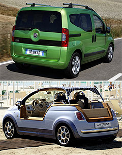 first look fiat jumps the qubo at the paris show goauto. Black Bedroom Furniture Sets. Home Design Ideas