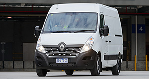 Renault  Master full: The Renault Master comes with an optional Premium Pack, which bolsters the list of features for the large van.