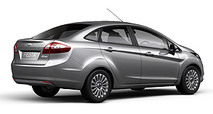 Ford 2010 Fiesta SedanFour-door Fiesta: Ford's baby model will come in sedan as well as five-door hatch when the updated model arrives from Thailand later this year.