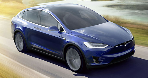 Tesla  Charging ahead: In 2016 Tesla will introduce its Model X SUV, reveal its entry level Model 3, build a new Supercharger in Port Macquarie and open a flagship store in Sydney.