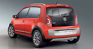 Volkswagen 2013 Up! five-doorTwo more doors: Volkswagen will release a five-door version of the Up hatchback in Europe late next year, as previewed by the Cross Up concept from the recent Frankfurt show.