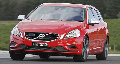 Volvo  Sales ambition: Volvo will rely on new models, like the V60 (pictured) to boost sales for this year and beyond.