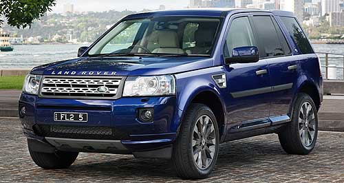 Land Rover Freelander 5-dr wagon rangeFreelander: Compact Land Rover get a refresh for 2011, including new or revised engines over the range.