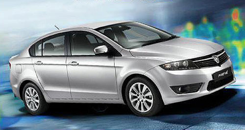 Proton 2012 Preve On the way: The Proton Preve is set to appear Down Under in August this year.