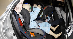 Honda  Crunch time: Australia uses a different child restraint mounting system to Europe.