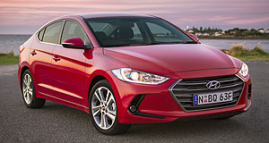 Hyundai Elantra Booted up: The new Elantra is the latest Hyundai to adopt the Fluidic Sculpture 2.0 design language.
