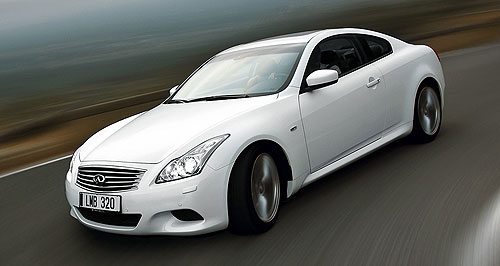 Infiniti 2011 G CoupeZed with more: The Infiniti G37 is more refined than the Nissan 370Z on which it is based.