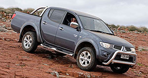 Mitsubishi 2014 Triton Truck plans: Mitsubishi's Triton one-tonne truck might be built on a platform shared with Nissan's Navara in its next generation.