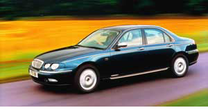 Rover  Resurgence: Popularity of Rover's 75 flagship has reached record levels in the UK.