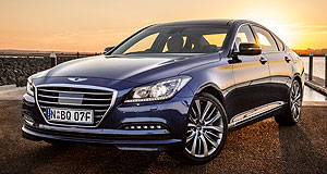 Hyundai  G star: The Genesis sedan will get a makeover later this year and change names to G80.