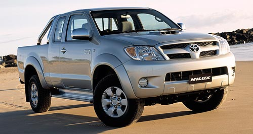 Toyota 2012 HiLux Top dog: Toyota's HiLux has 'a couple of years' to run before it is due for replacement.