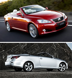 Lexus2009 IS center image