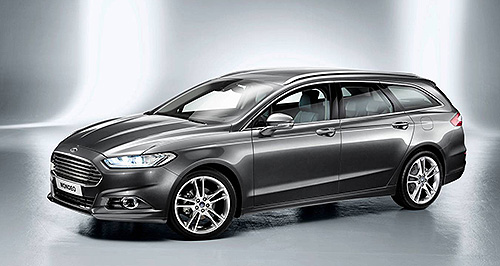 Ford 2014 Mondeo Family business: Ford is laying the groundwork for the Mondeo to become one of its key family-car fighters, with Falcon continuing to struggle and set to be killed off in 2016.