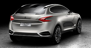 Peugeot  Puzzle piece: If confirmed, Peugeot's forthcoming 6008 is likely to have evolved from the 2011 SXC Concept Hybrid.