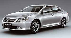 Toyota 2012 Aurion SedanEmerged: The next-generation Toyota Aurion will share the new Camry's wheelbase and chassis, but will get slightly more conservative styling detail both front and rear.