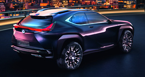 Lexus 2018 UX U turn: The Lexus UX concept will become a production reality according to one of the company's most senior executives.