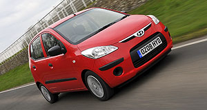 Hyundai 2010 i10 Stuck in neutral: The Hyundai i10 is in limbo until shipping and related issues can be resolved.