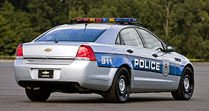 Chevrolet Caprice PPVLocal enforcer: The Holden Caprice-based Chevrolet police pursuit vehicle has won several categories in the Michigan State police tests.