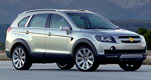 Holden 2006 Captiva Debut: The C-100 will make its international debut as the Chevrolet S3X concept this week at the Paris motor show.