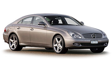 2005 Mercedes-Benz CLS-class CLS500 4-dr coupe Car Review