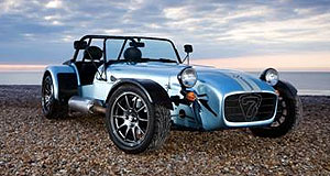 Caterham Seven Less is more: Caterham's new Seven CSR 175 features inboard front and fully independent rear suspension.