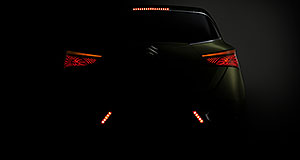 Suzuki 2013 S-Cross In shadows: The S-Cross will bolster Suzuki's presence in the rapidly-expanding small crossover segment.