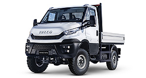 Iveco Daily 4x4Bush basher: Iveco has released the updated version of its Daily 4x4 off-roader, but it is not being offered with an auto.