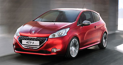 Peugeot 2012 208 Hot hatched: Redesigned 208 will spawn a three-door hot hatch to replace the 207 GTi.