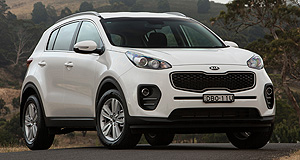 Kia Sportage Sports star: Kia's new Sportage is offered in three different specification levels and with three powertrains.