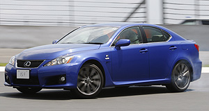 Lexus 2008 IS Rapid: Hottest Lexus packs a 5.0-litre V8 punch, wrapped in velvet.
