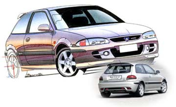 1999 Proton Satria GTi 3-dr hatch Car Review