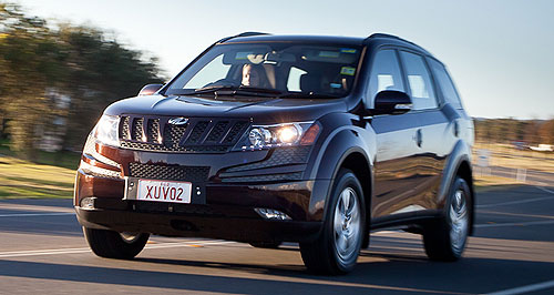 Mahindra XUV500 Manual labour: Sales of the XUV500 will be constrained by the lack of an automatic transmission until the first half of 2014.