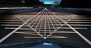 Mercedes-Benz  Night rider: Science fiction is fast becoming science fact, with cars of the near future being able to detect and avoid impending collisions.