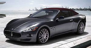 Maserati 2010 GranCabrio Stretch out: The four-seater Maserati GranCabrio offers room to move.