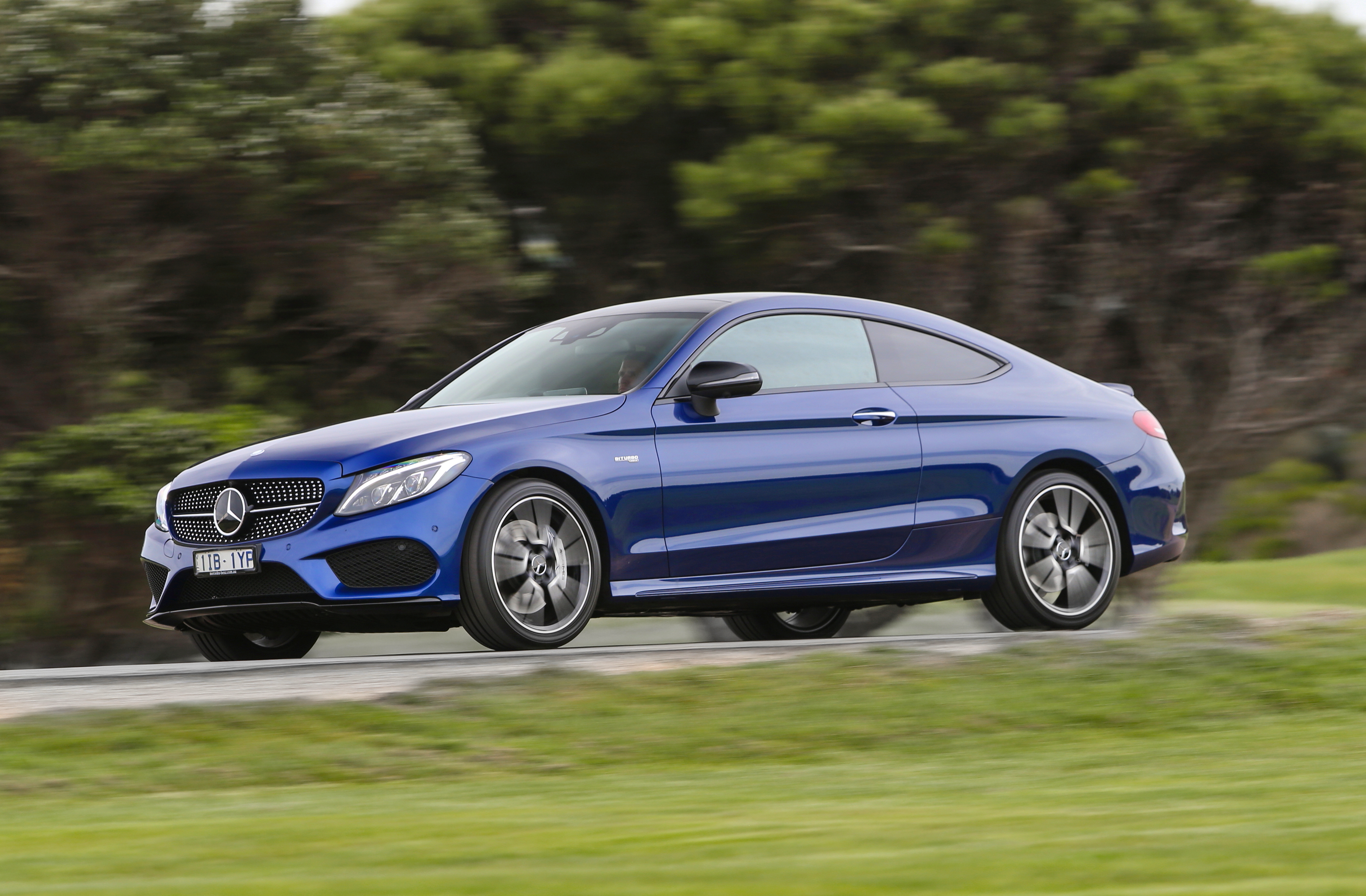 driven mercedes amg c43 coupe muscles in goauto. Black Bedroom Furniture Sets. Home Design Ideas