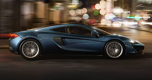 McLaren 570GT Potent and practical: The McLaren 570GT takes almost all of the 570S' performance package, but adds a dusting of practicality for easier day-to-day use.