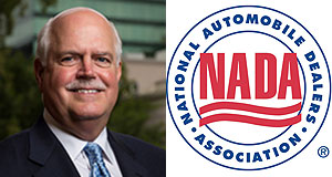 General News  Wheel and deal: National Automobile Dealers Association president Peter Welch believes tech giants such as Google and Yahoo are obtaining information on dealer customers.