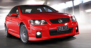 "Holden 2014 Commodore Knocking on the 'dore: GM's global design chief ""can't stand still thinking about"" the 2014 Holden Commodore."