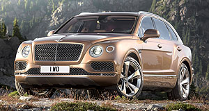 Bentley Bentayga Hell bent on success: Bentley's first off-roader is already attracting a significant audience with its combination of fiery performance, opulent luxury and typical Bentley panache.