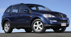 SsangYong Kyron Do you feel like Kyron: SsangYong Kyron aims to appeal with fresh face.