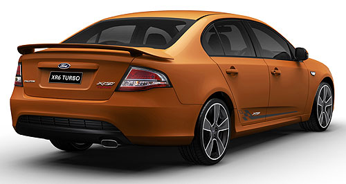Ford Falcon Birthday gift: Ford's 50th Anniversary Falcon 'XR50' edition lowers the XR6 Turbo sedan price by at least $3000, to $45,950 drive-away.