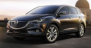 Mazda 2013 CX-9 Nine lives: Mazda's facelifted CX-9 seven-seat crossover vehicle will have a Down Under debut.